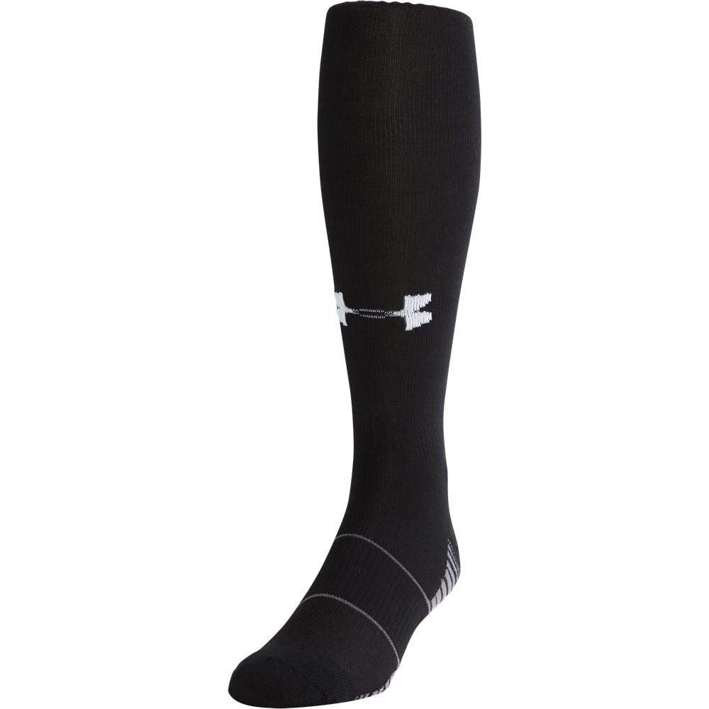 Under Armour Performance OTC Black Socks Size Large