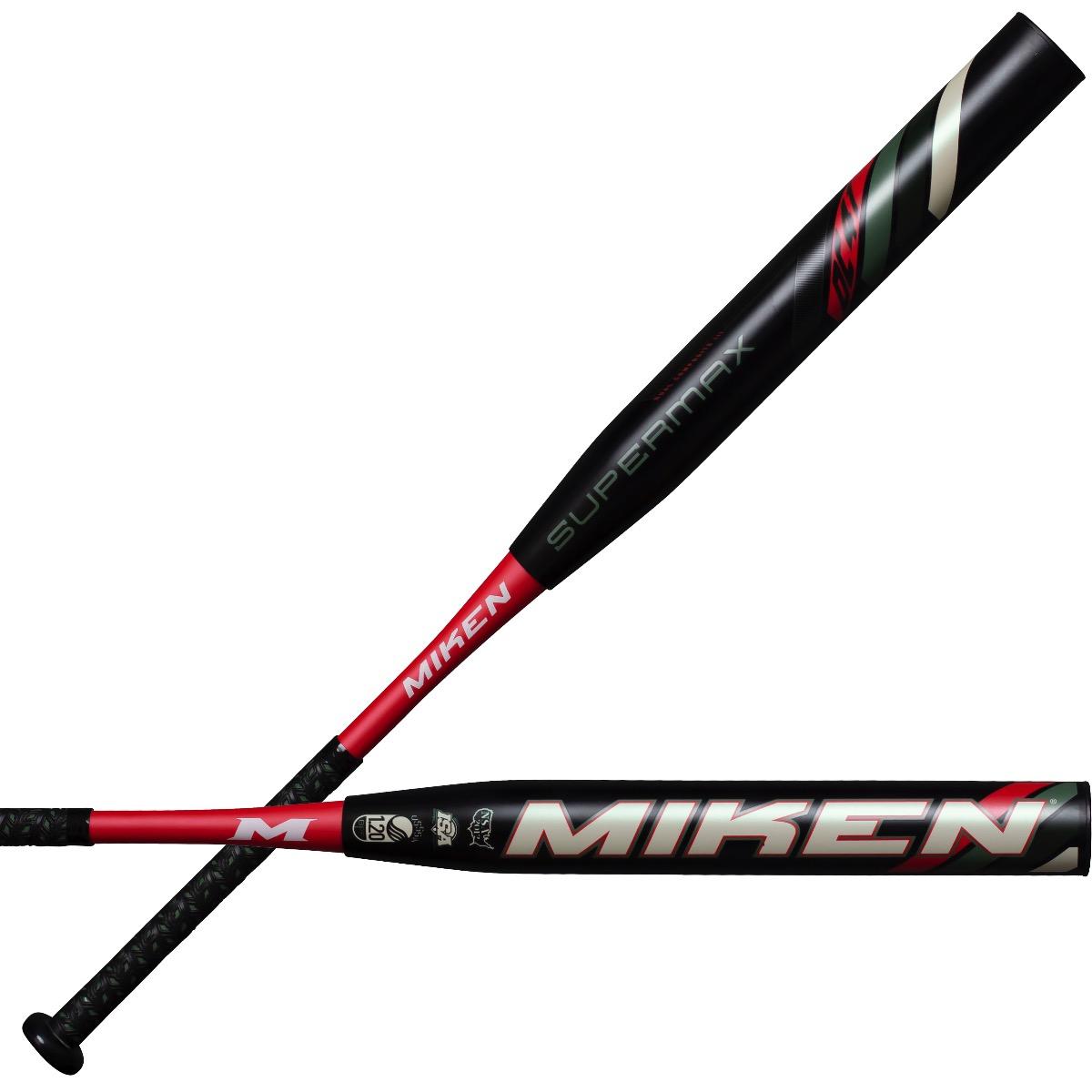 2020 Miken DC41 34//26 Supermax Black USSSA Slowpitch Softball Bat MDC20U-BLK