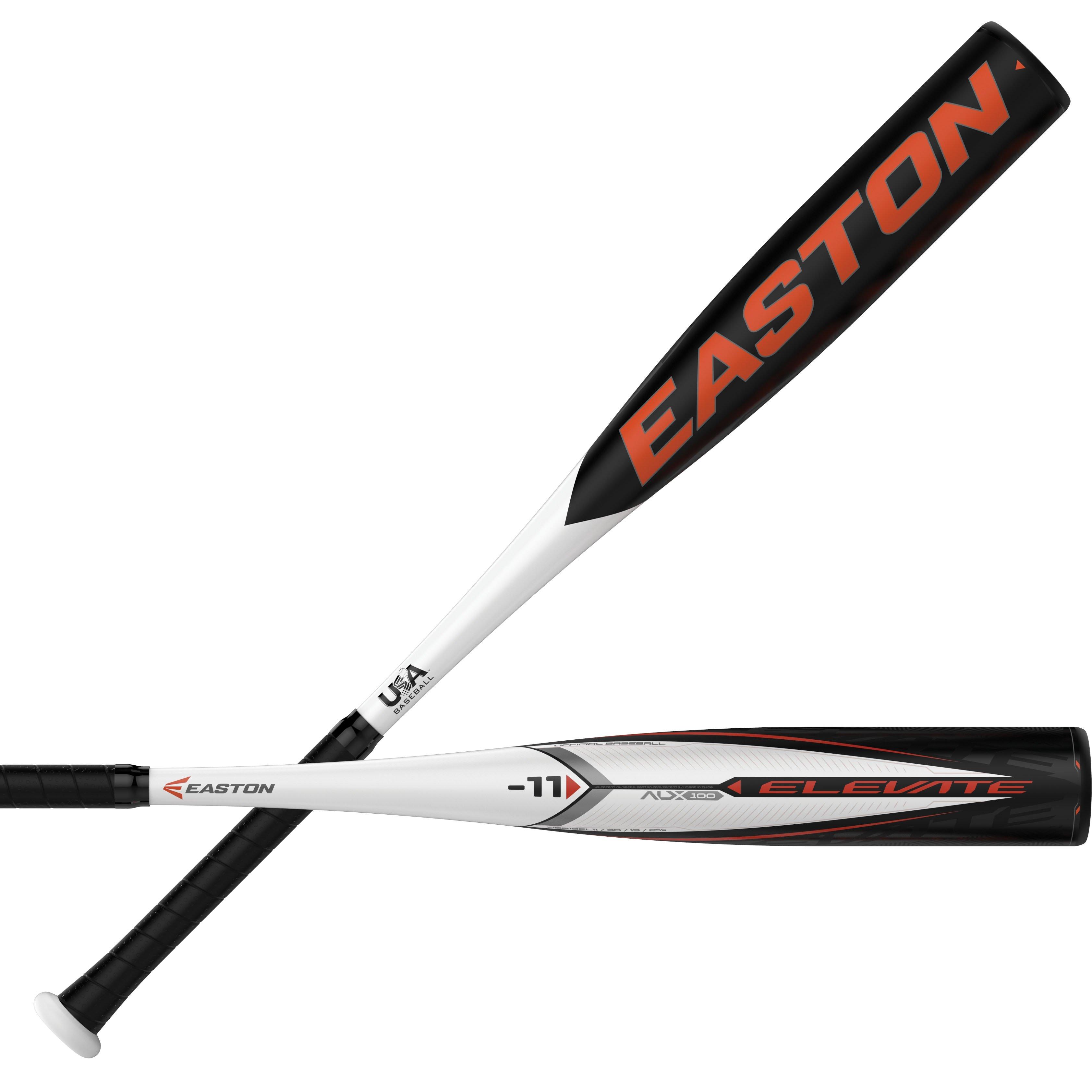 3 Easton Elevate Bbcor Baseball Bat